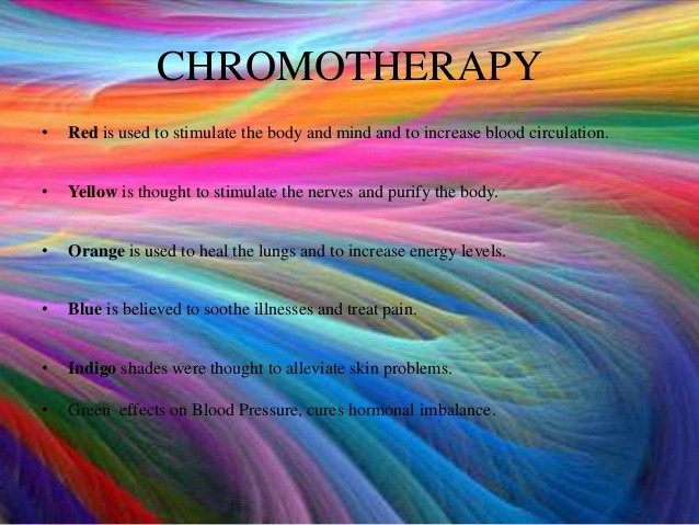 WHAT IS CHROMOTHERAPY