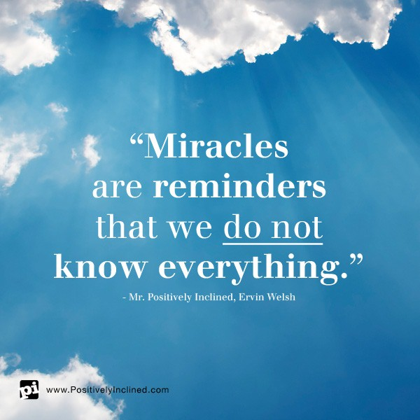 Miracles Happen Every Day!! - Dr  Vidya Hattangadi