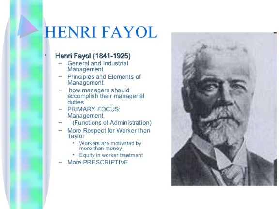 fayols principals Henri fayol 14 principles of management:- henri fayol bestowed people with administrative responsibilities with 14 principles of management, which are still used as a guide to manage.
