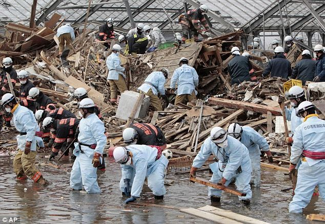 How people behave during and after disasters portrays the national